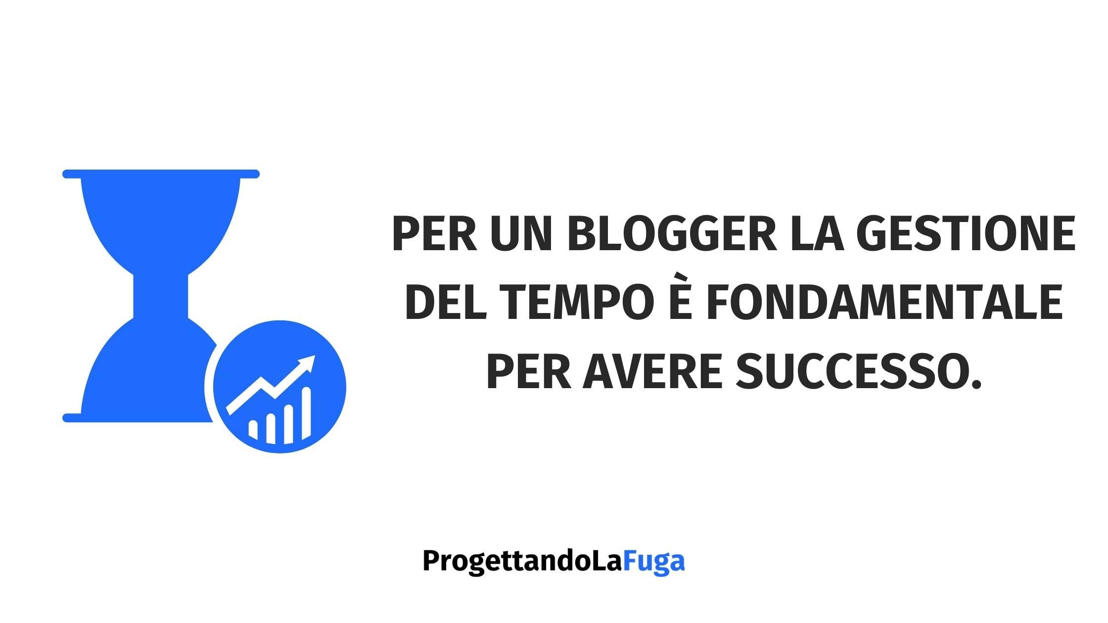 essere produttivo con il tuo blog