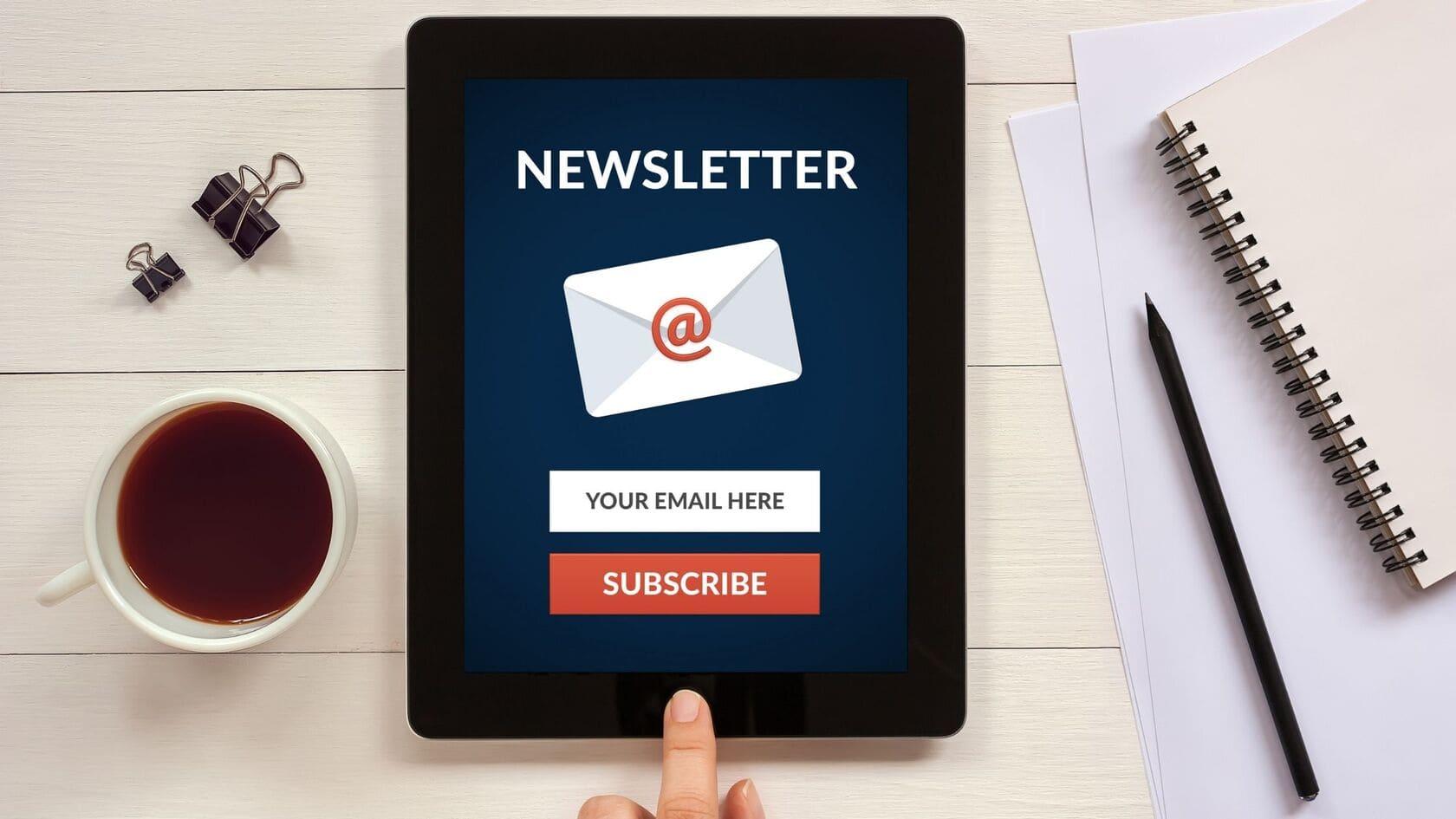 come si pubblicizza un blog con la newsletter