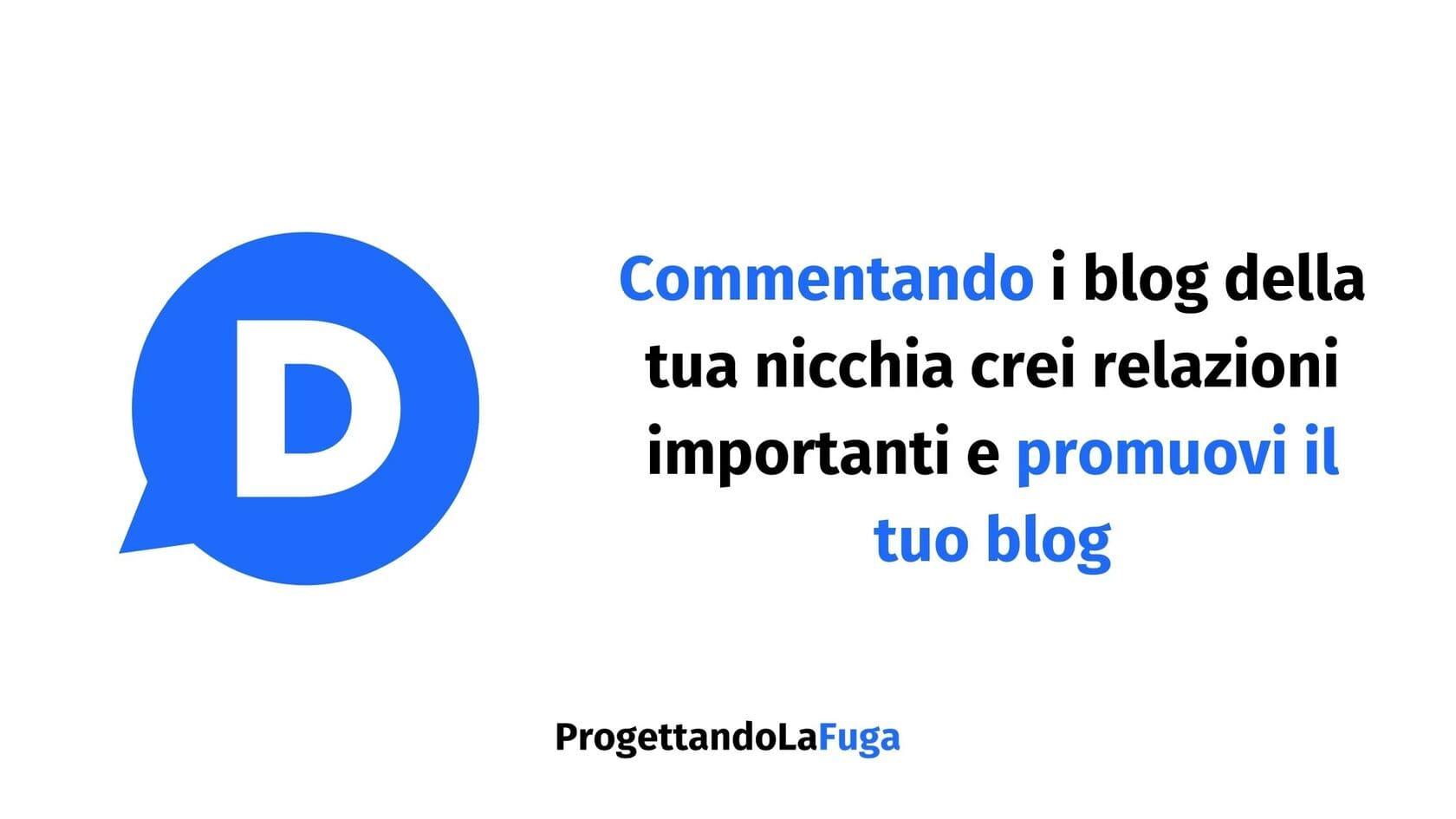 commentare i blog degli altri