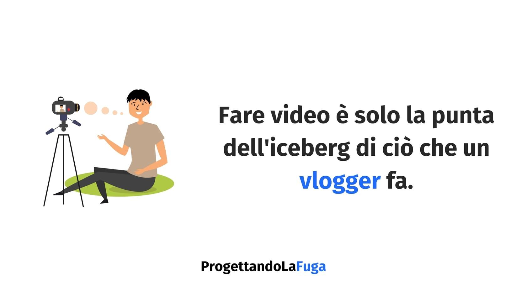 cosa fa un vlogger