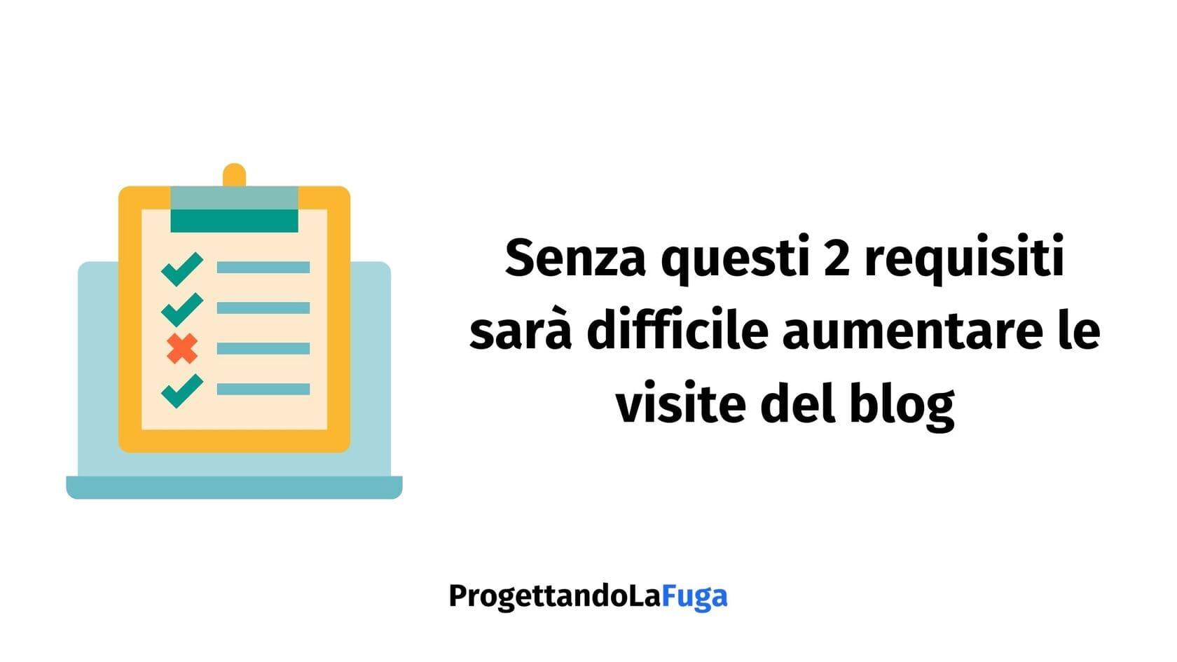 requisiti visite blog