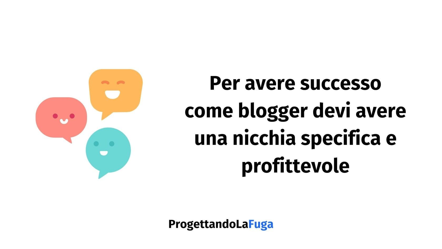 diventare blogger professionista grazie alla nicchia giusta